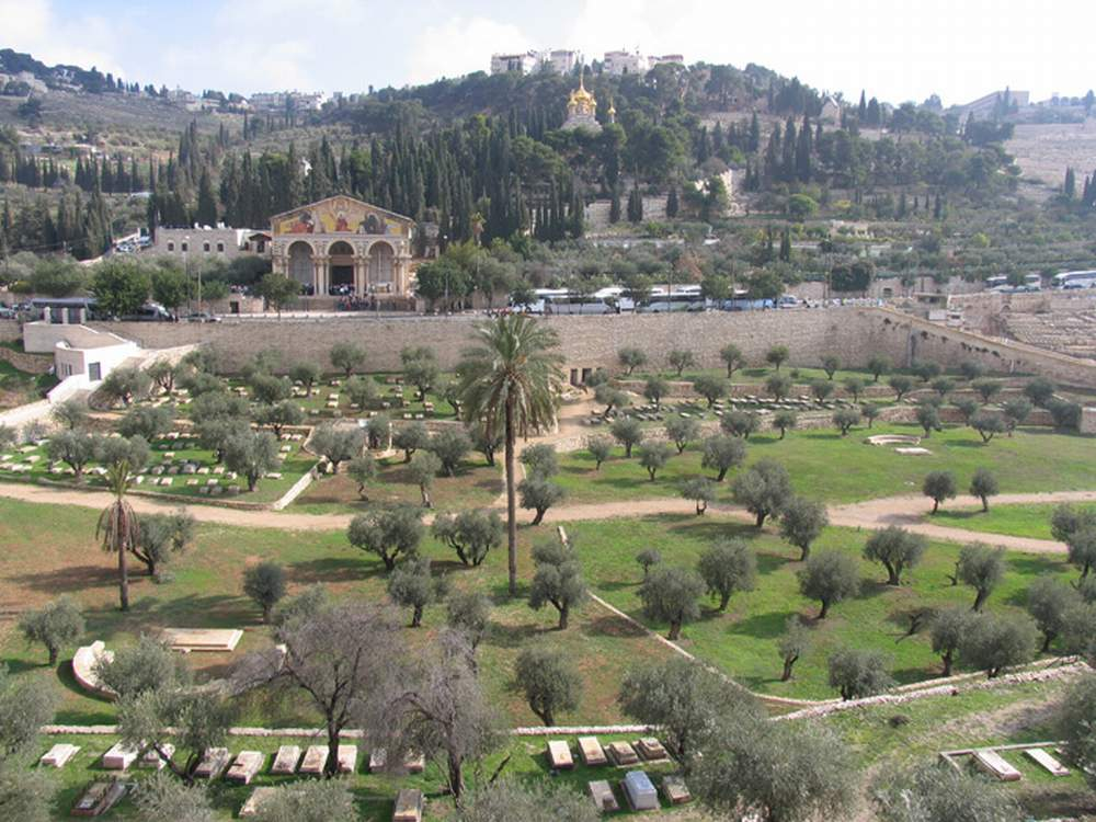 Израиль, Иерусалим, Кедронская долина (Israel, Jerusalem, Kidron Valley)