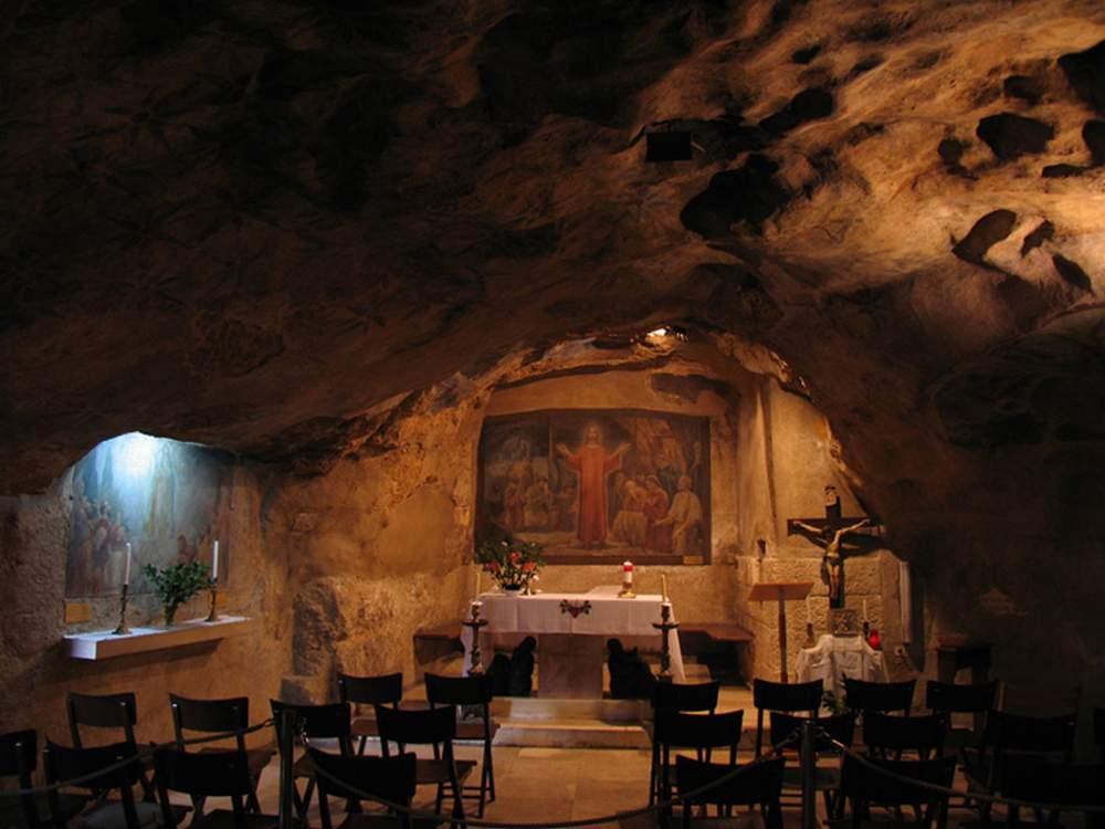 Израиль, Иерусалим, Гефсиманский грот (Israel, Jerusalem, Gethsemane grotto)