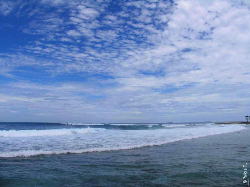 На пляже Мале