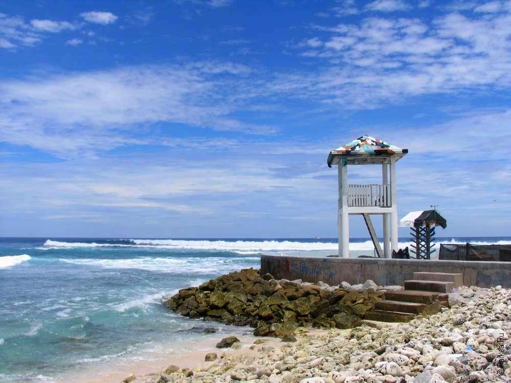 Остров Мале на Мальдивах