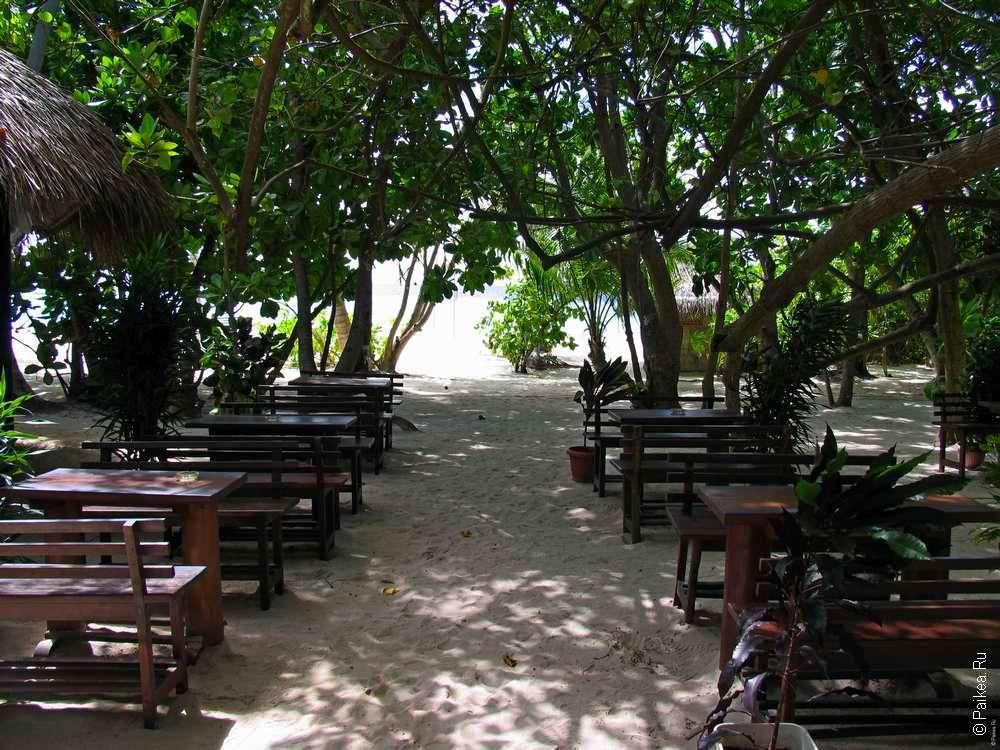 Столики ресторана