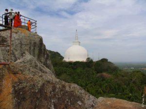 Гора Аранхана Гала Михинтале Шри-Ланка Mihintale