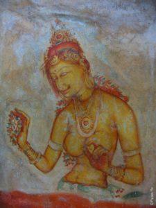 Пример сингальской красоты