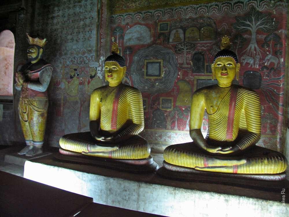 Дамбулла пещерный храм