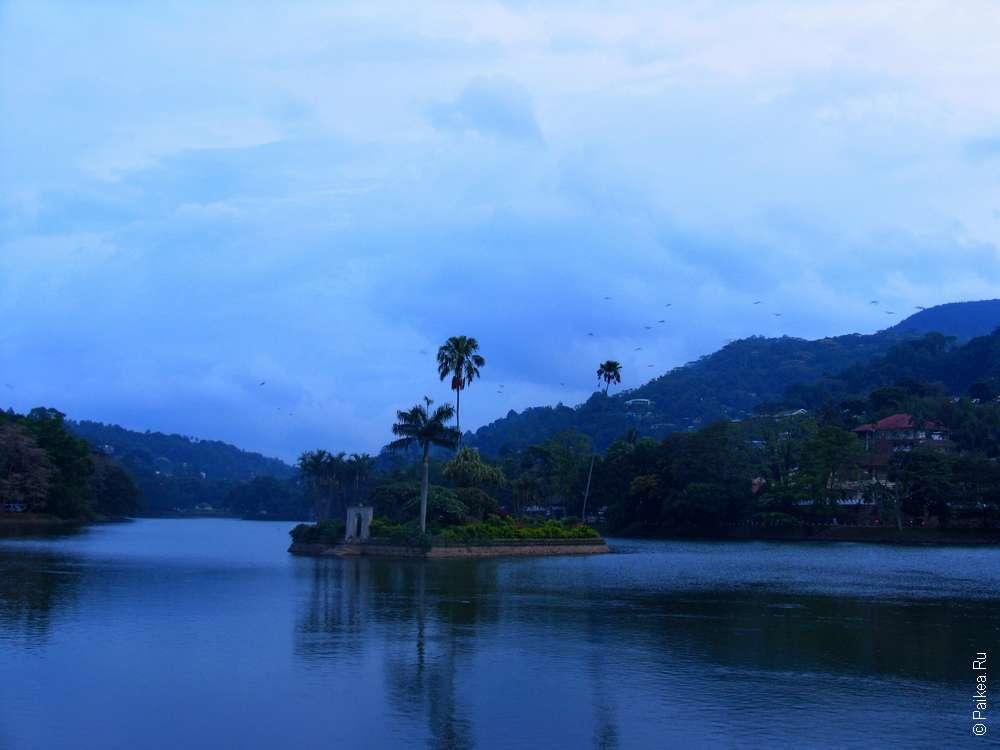 Сумерки в Kandy