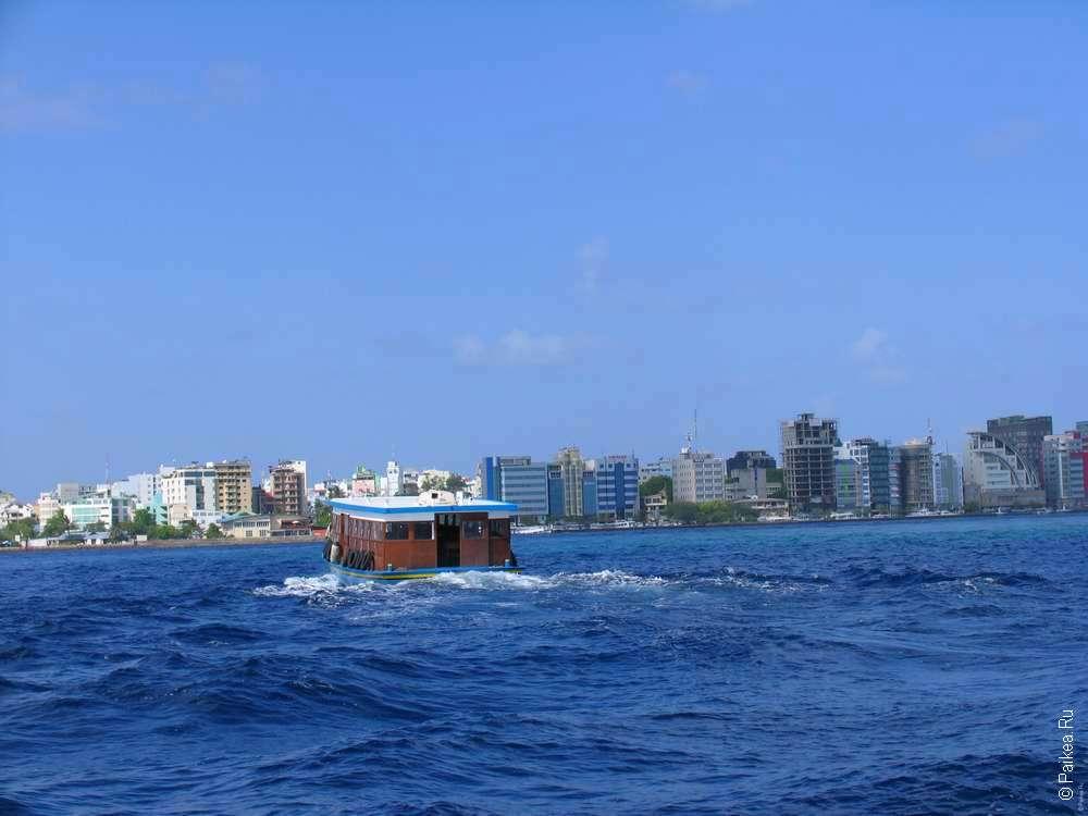 Мальдивы дешевый паром