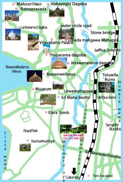 Достопримечаельности Анурадхапуры