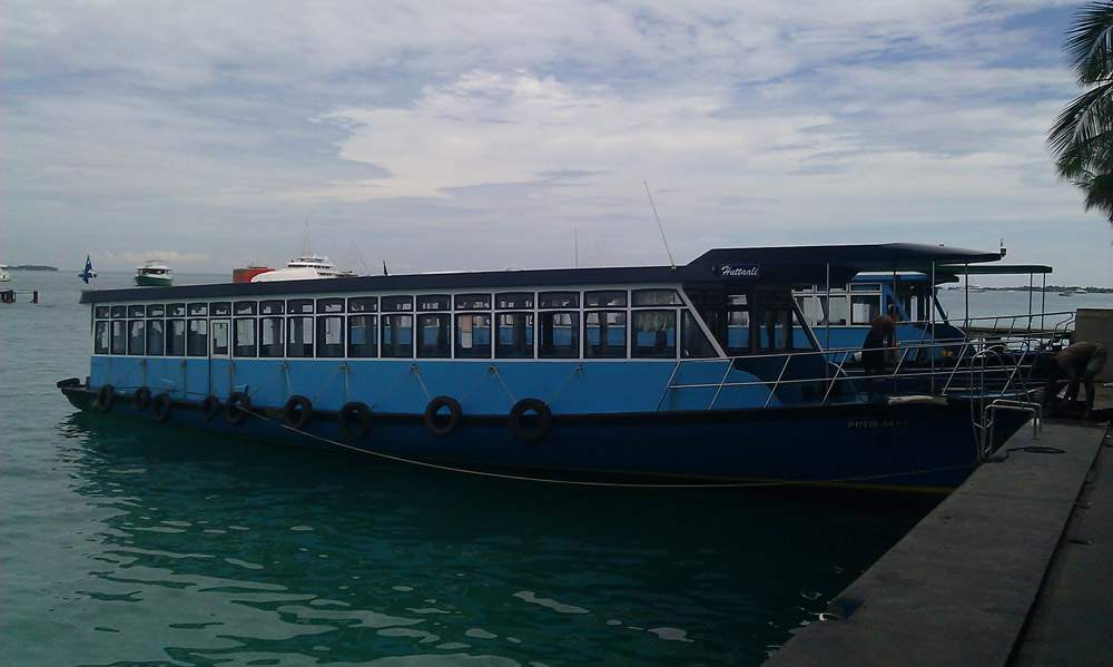 Мальдивы - Хулуле (Maldives - Hulhule)
