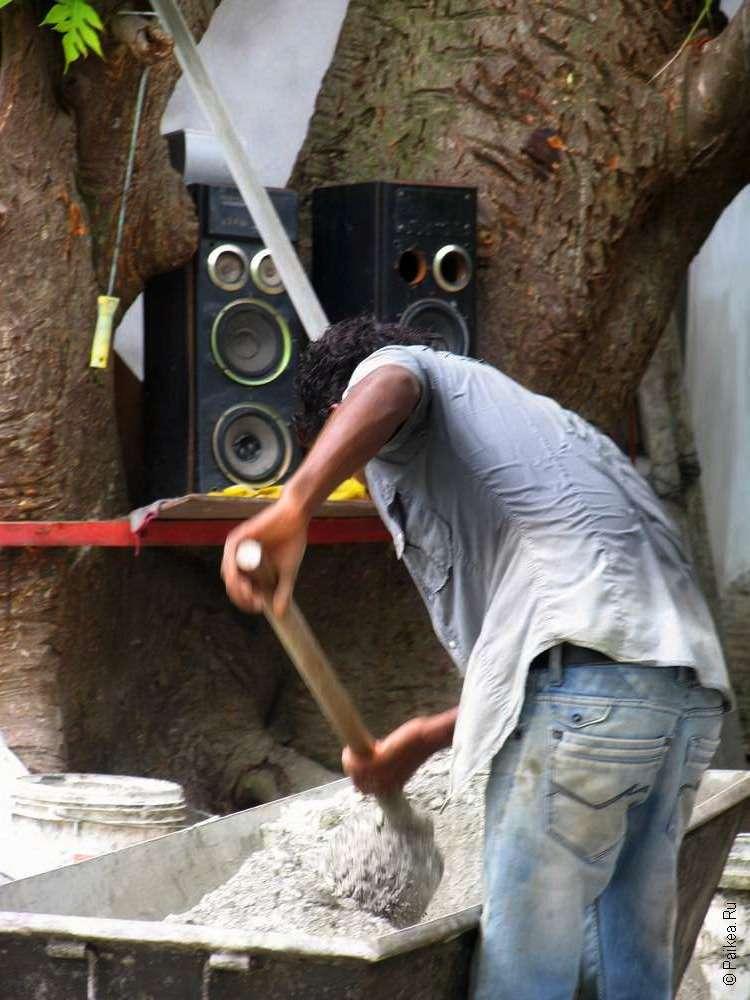 Строительство гестхауса на Мальдивах