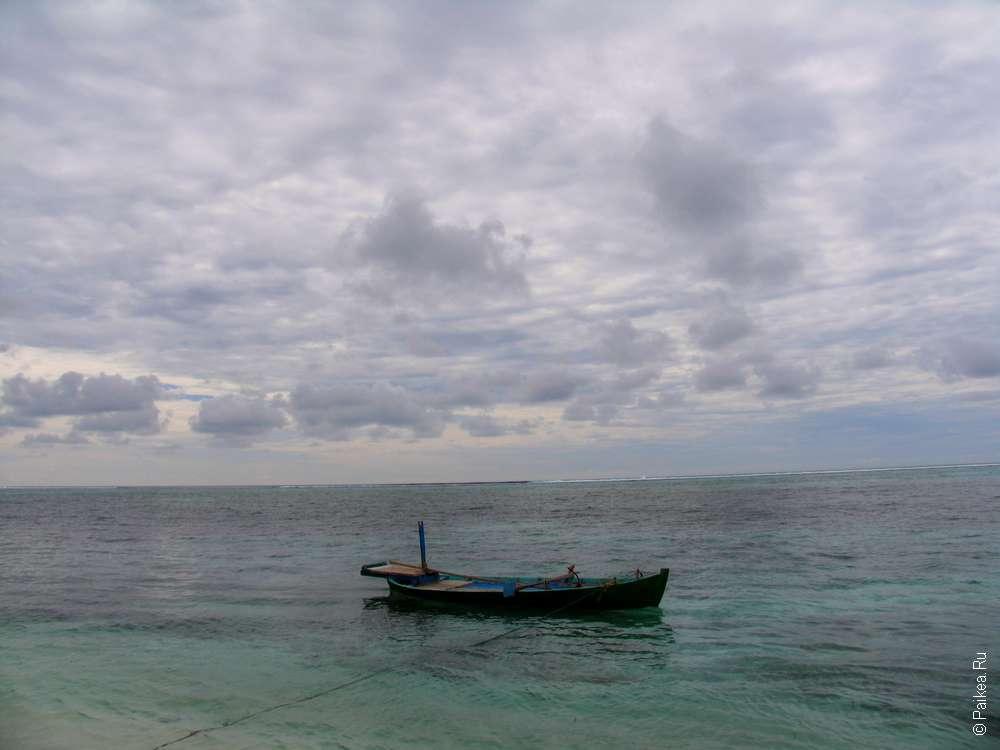 Лодка на Маафуши