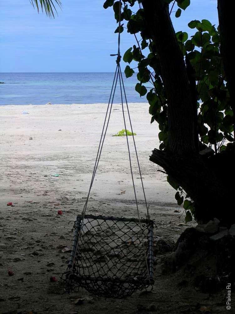Гамак на Мальдивах