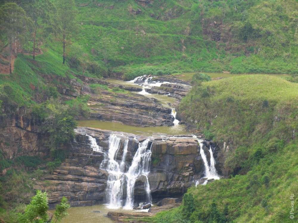 Нувара Элия водопад