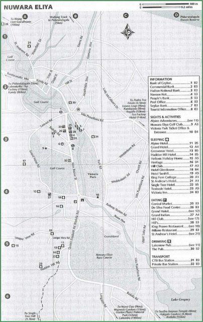 Нувара Элия на карте