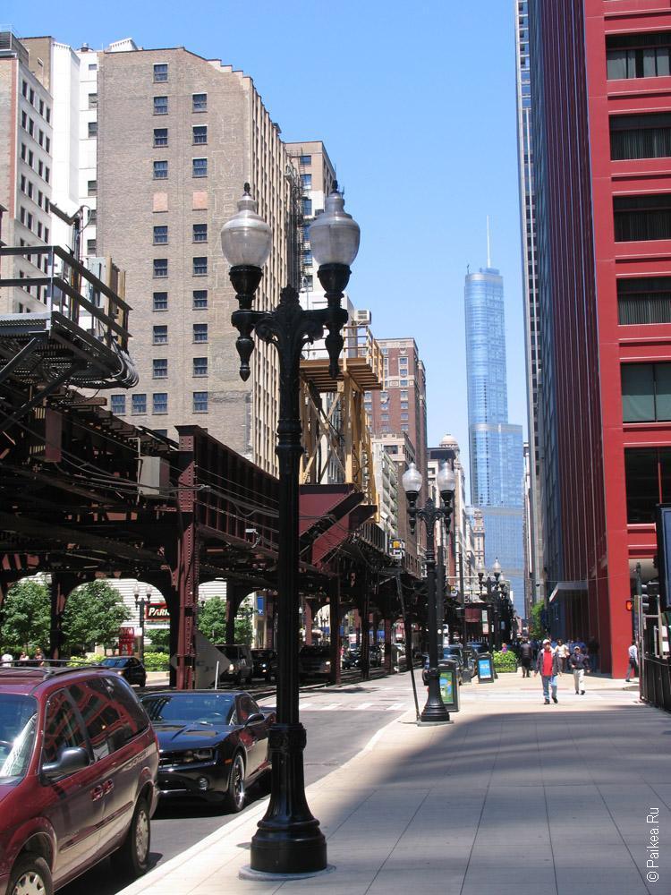 небоскреб в Чикаго