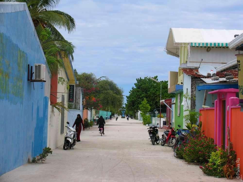 Мальдивы Маафуши