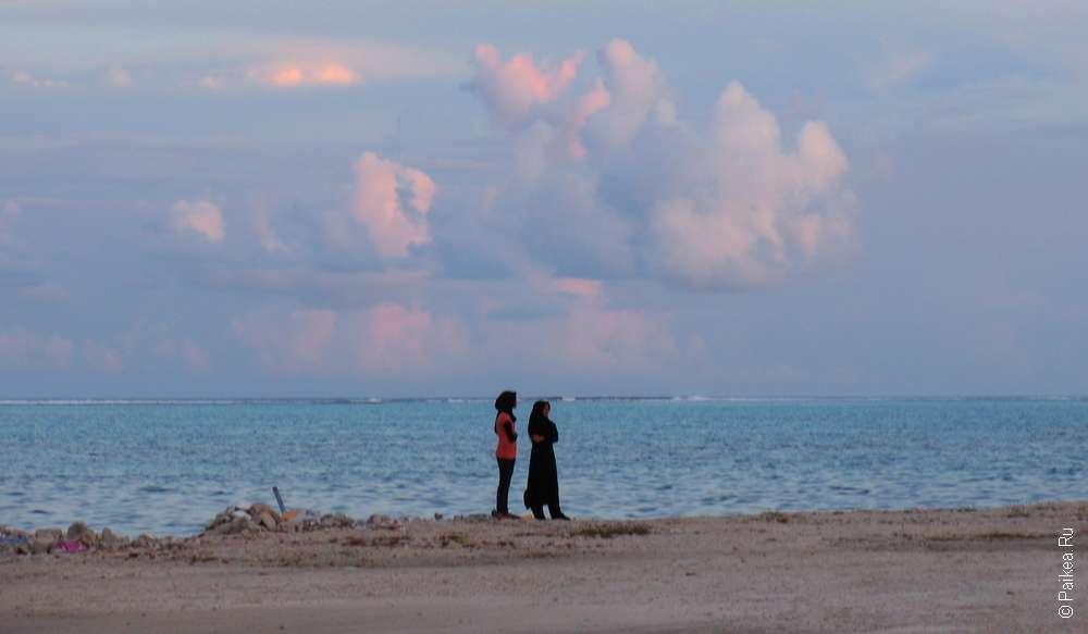 Красивое фото Мальдивы