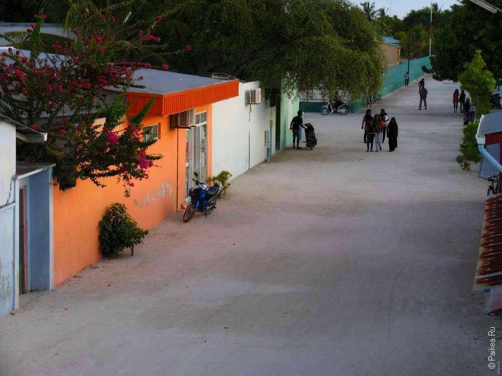 Мальдивы фото Маафуши
