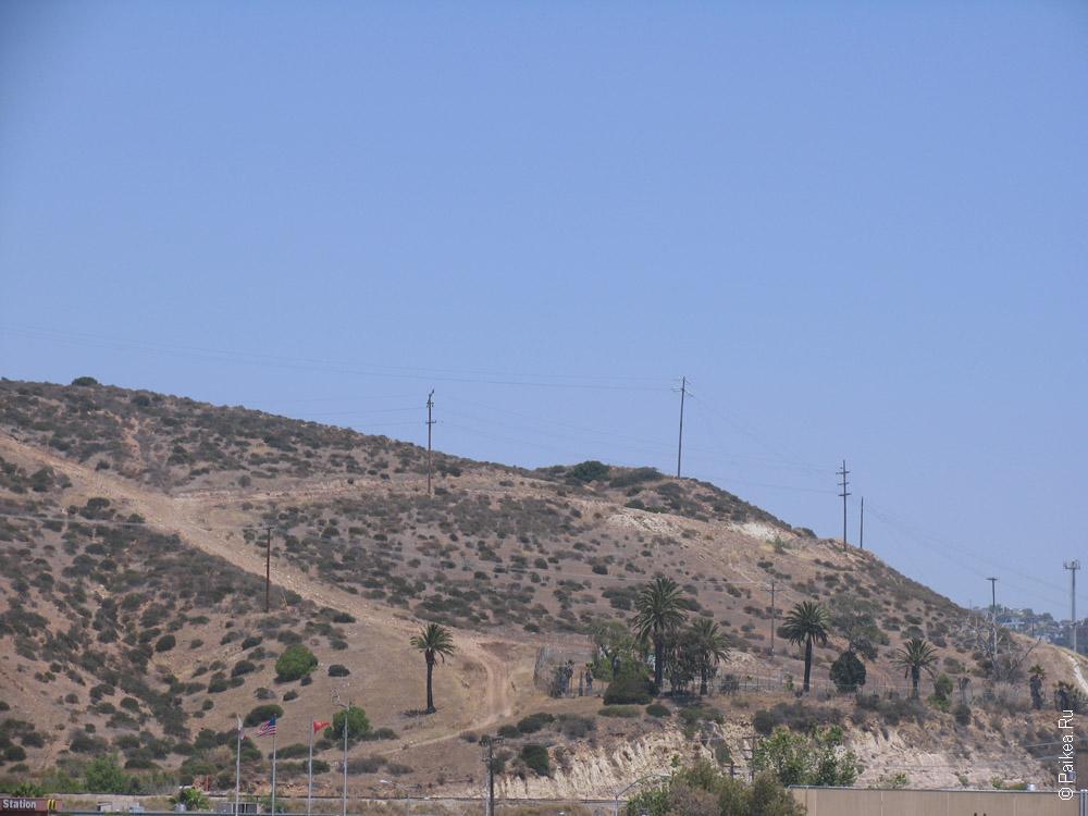 холм на границе сша мексика
