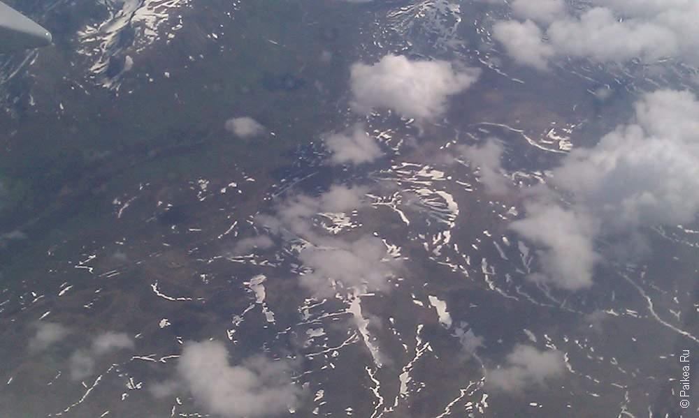 North Pole - горы на северном полюсе