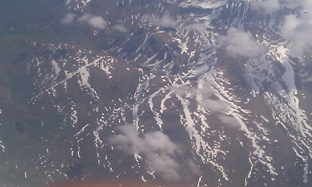 горы на северном полюсе