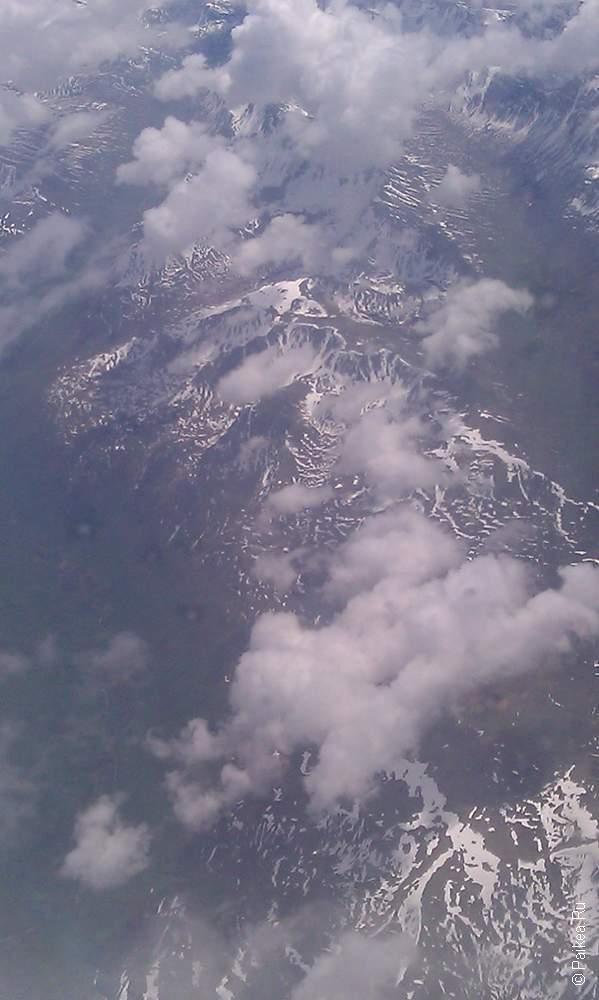 горы на севере земли