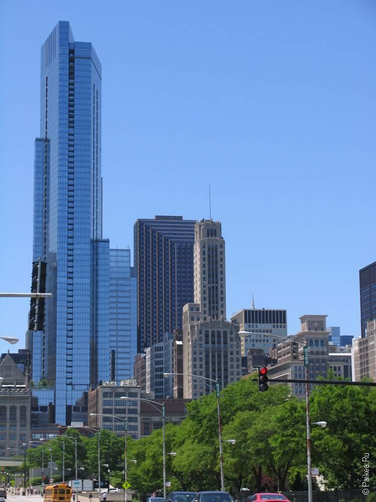 Чикаго небоскреб