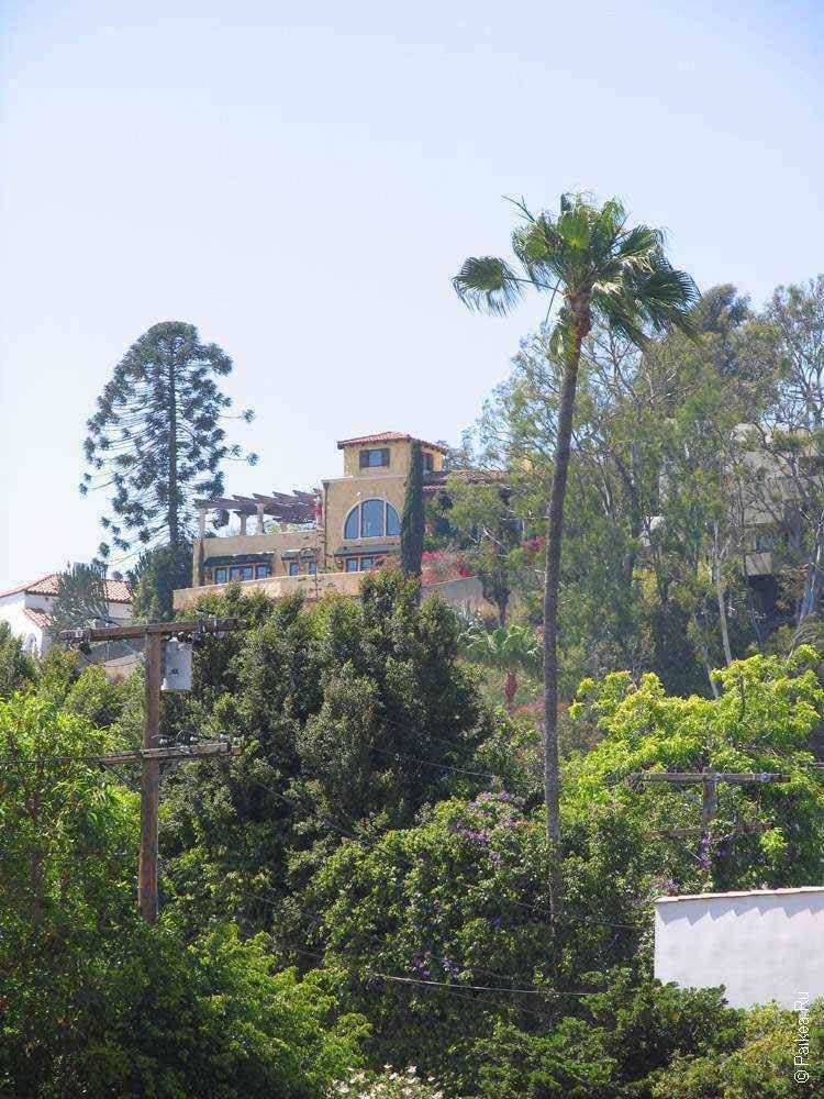 дом на холме в лос анджелесе сша