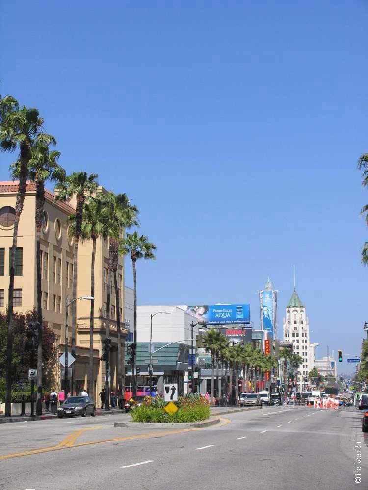 район голливуд в лос анджелесе сша