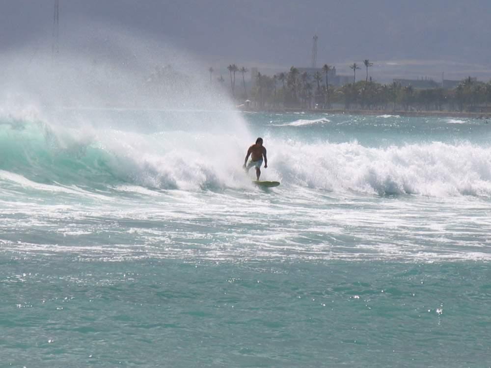 серфинг на гавайях