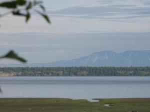 озеро и горы в анкоридже сша