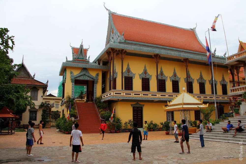 Храм Оуналом, Пномпень Камбоджа