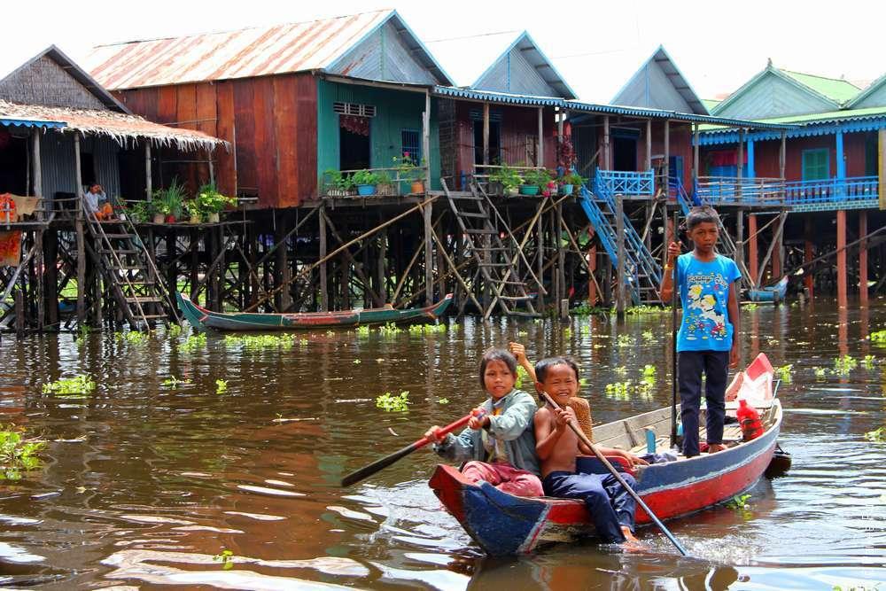 экскурсия в плавучую деревню