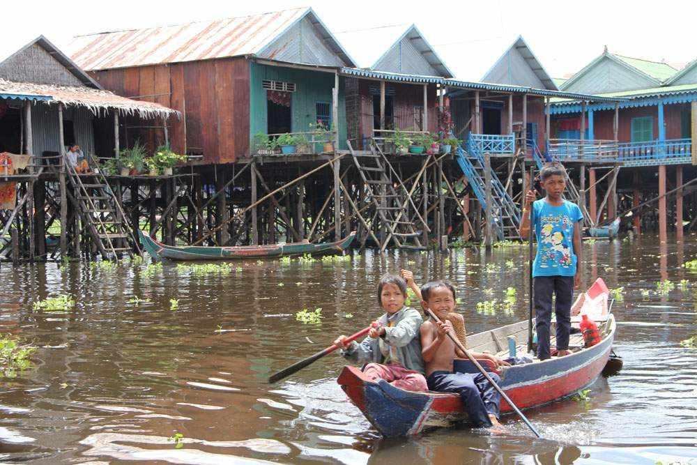 Камбоджа - Озеро Тонлесап (Cambodia - Tonle Sap Lake)Камбоджа - Озеро Тонлесап (Cambodia - Tonle Sap Lake)