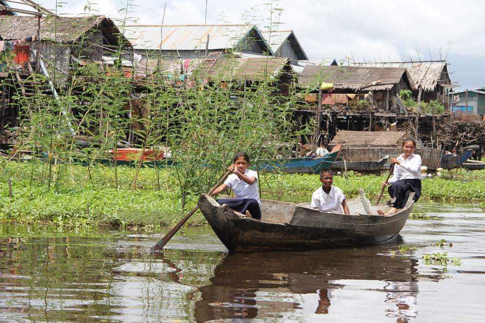 Камбоджа - Озеро Тонлесап (Cambodia - Tonle Sap Lake)