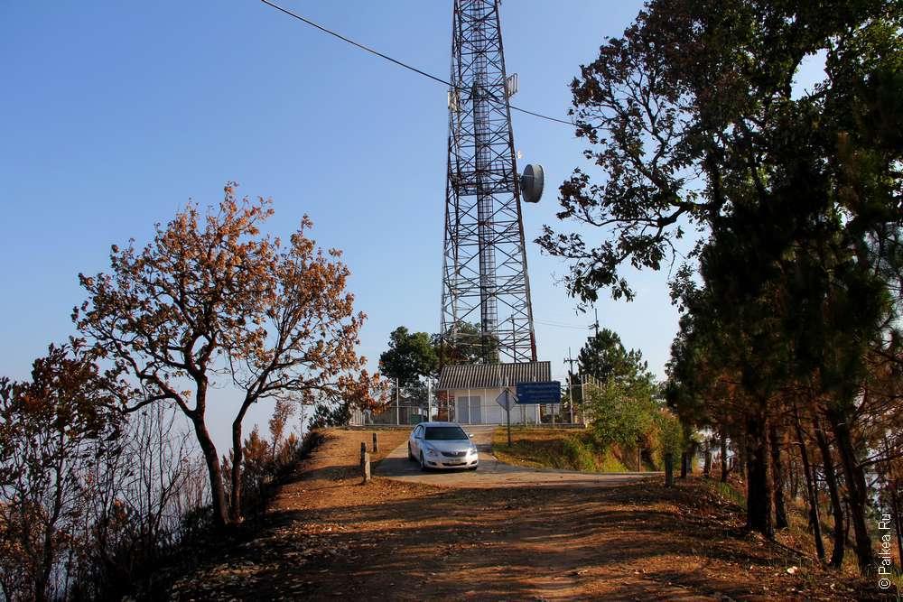 Высокая гора в Северном Таиланде