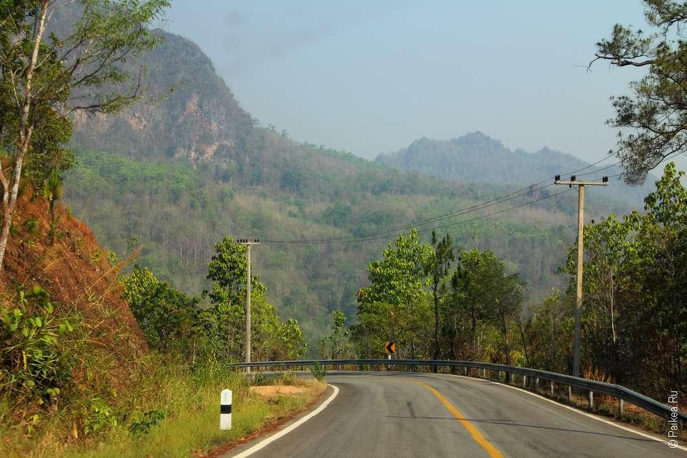 Дороги Северного Таиланда