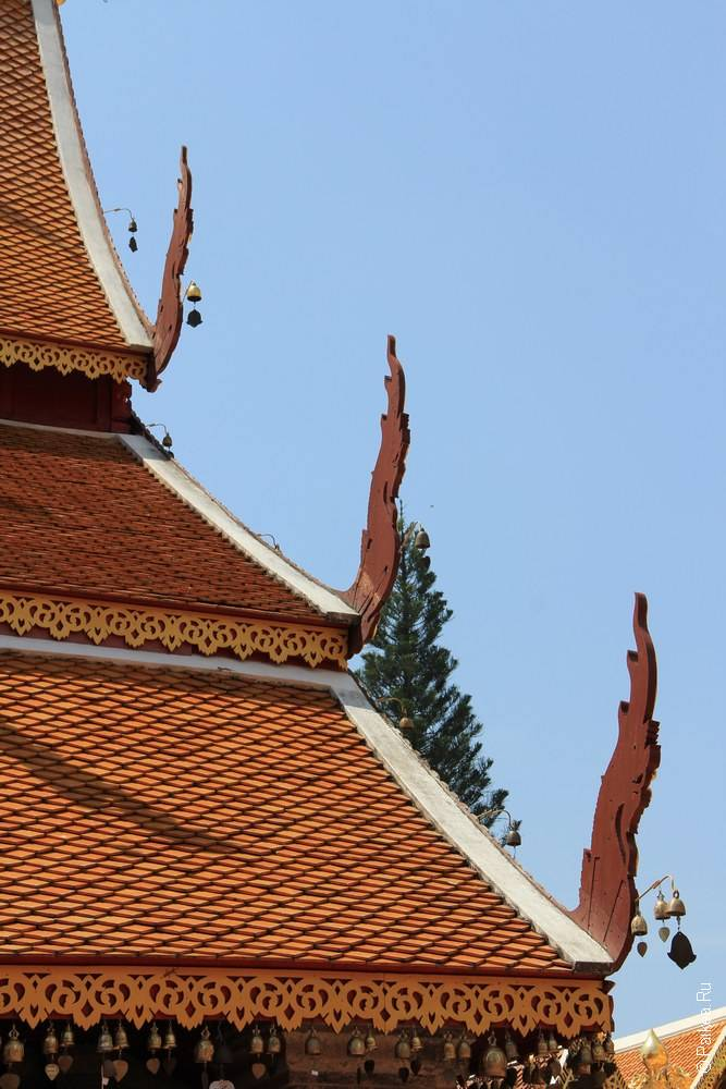 Таиланд - Чианг Май - Храм Ват Пра Тат Дои Сутхеп (Thailand - Chiang Mai - Wat Phra That Doi Suthep)