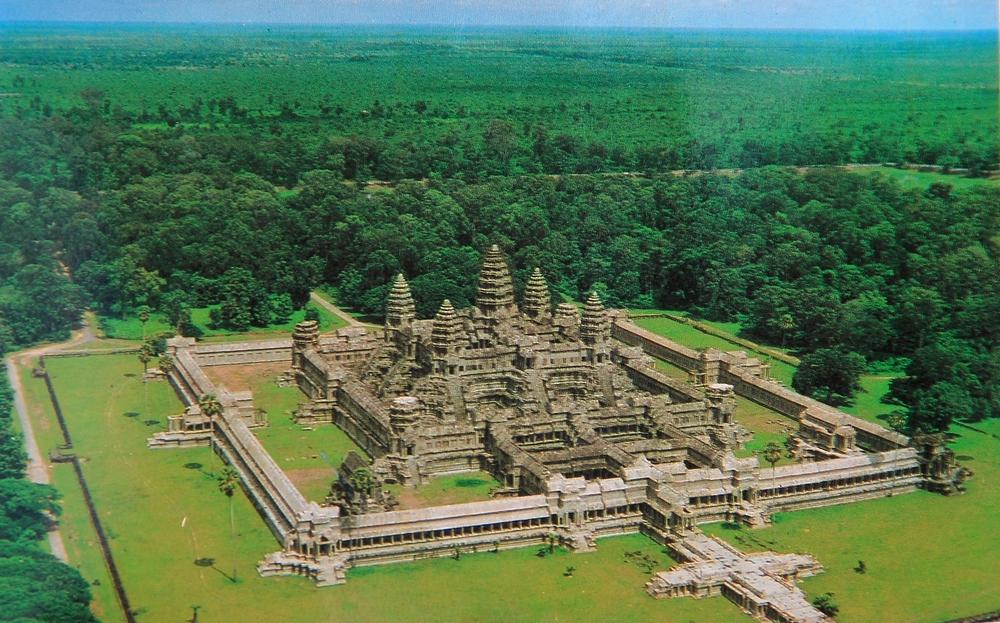 Angkor Wat-plan