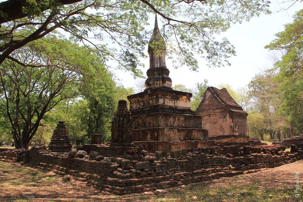 Таиланд - Си Сатчаналай - Ват Суан Кео Уттайя Нои (Thailand - Si Satchanalai - Wat Suan Kaeo Utthayan Noi)
