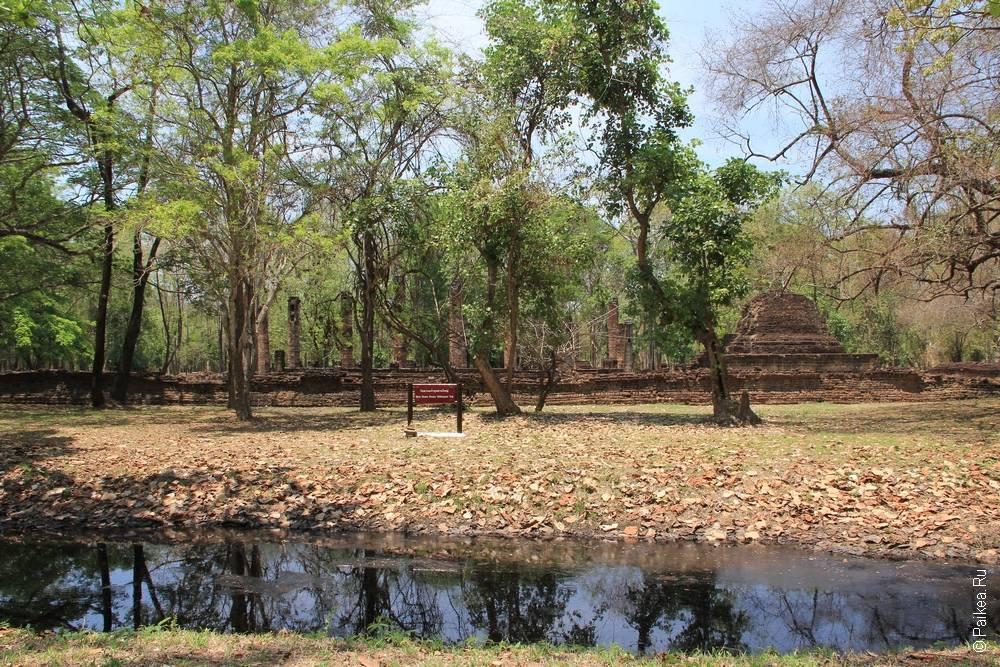 Таиланд - Си Сатчаналай - Ват Суан Кео Уттайя Яи (Thailand - Si Satchanalai - Wat Suan Kaeo Utthayan Yai)