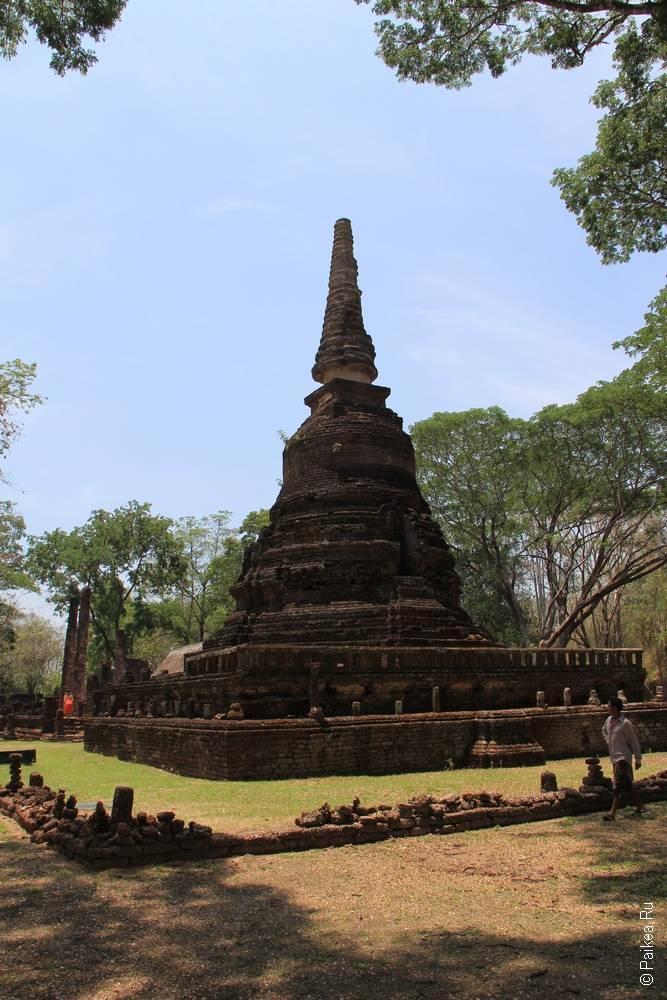 Таиланд - Си Сатчаналай - Ват Нанг Пайя (Thailand - Si Satchanalai - Wat Nang Phaya)