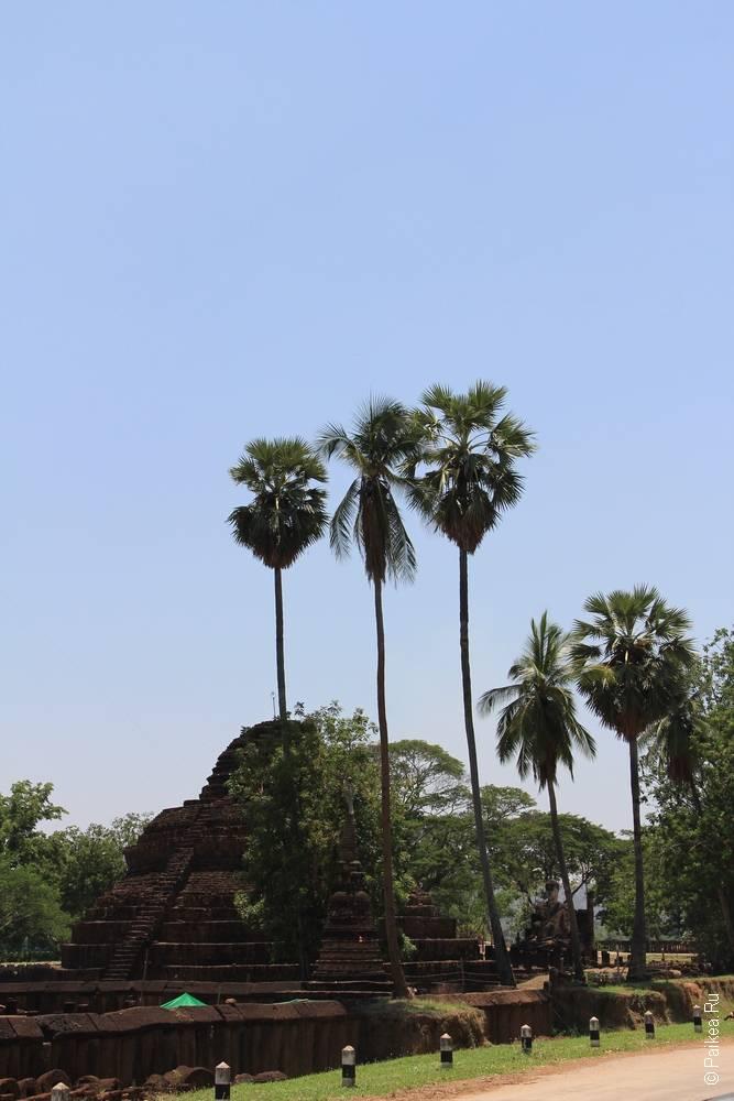 Таиланд - Си Сатчаналай - Ват Пра Си Ратана Махатат (Thailand - Si Satchanalai - Wat Phra Si Ratana Mahathat)