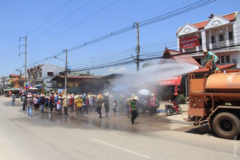 Крестьянский праздник в Таиланде (Peasant celebration in Thailand)