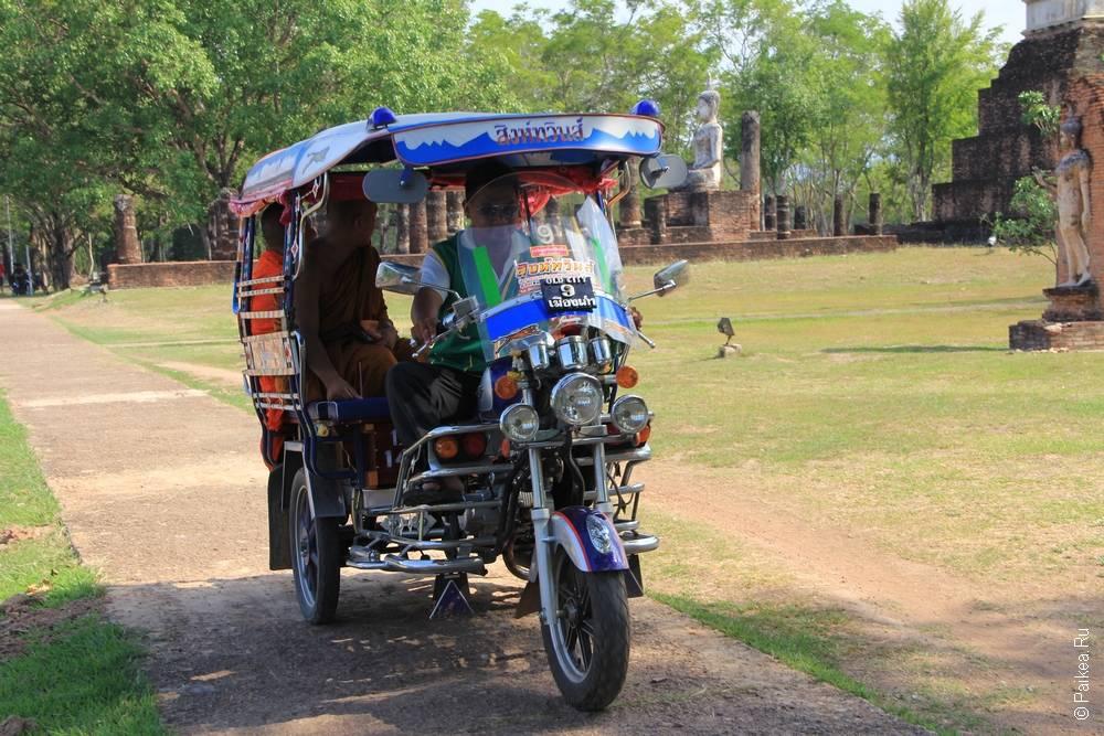 Туктук в Таиланде