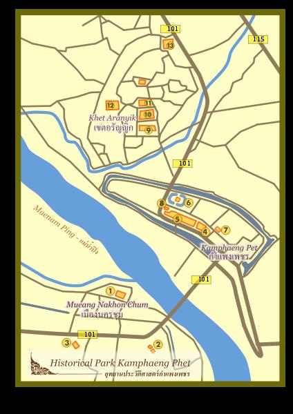 Таиланд - Кампаенг Пет (Thailand - Kamphaeng Phet)