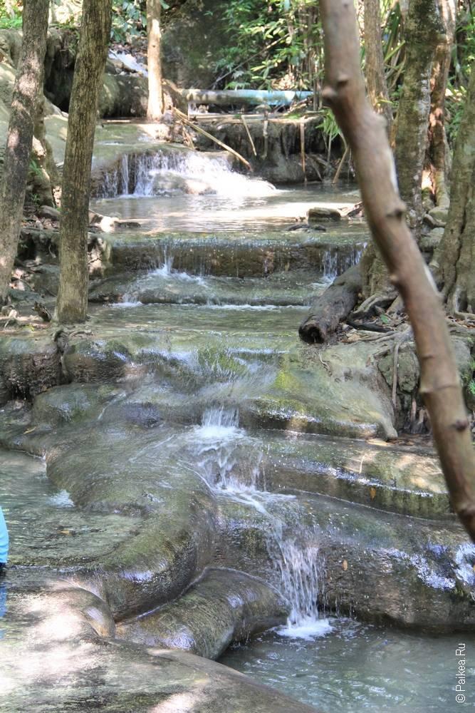 водопад эраван пороги
