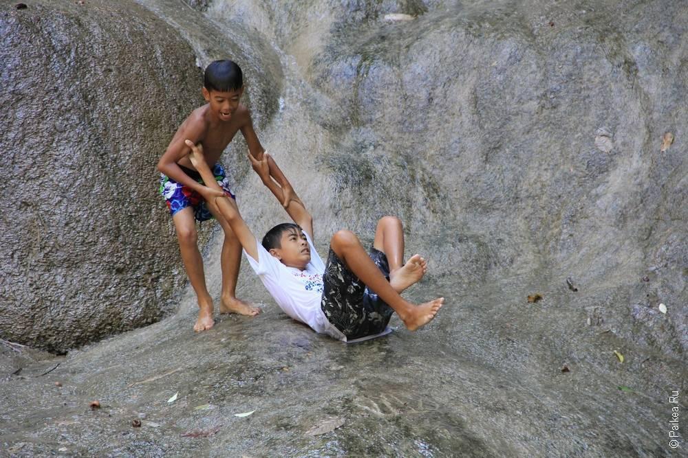 Таиланд - Канчанабури - Нам Ток Саи Йок (Thailand - Kanchanaburi - Nam Tok Sai Yok)