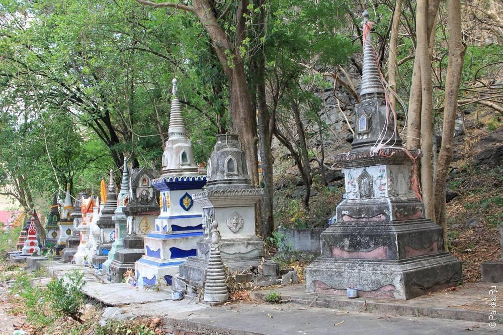 буддистское кладбище монахов