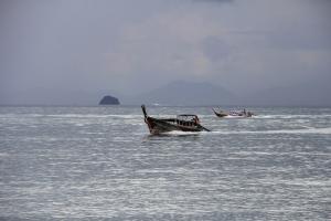 лодка в андаманском море