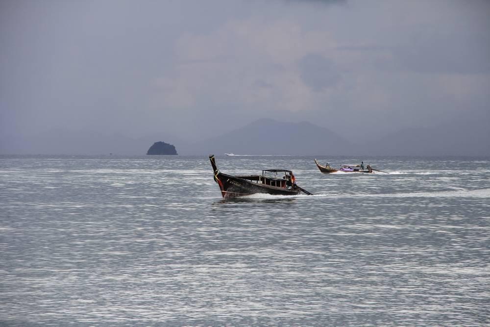 лодки в краби таиланд